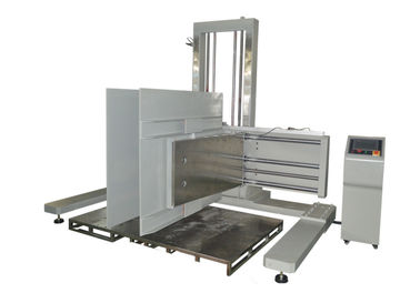 China Carton Compression Testing Machine , Package Clamp Force Tester with PLC Control supplier