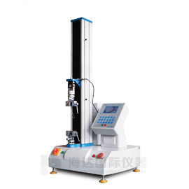 China Electronic 2KN Single Column Tensile Testing Machines Price for Film ,Textile supplier