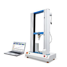 China Electronic Double Column Universal Tensile Strength Testing Machine for Plastic / Rubber / Fabric supplier