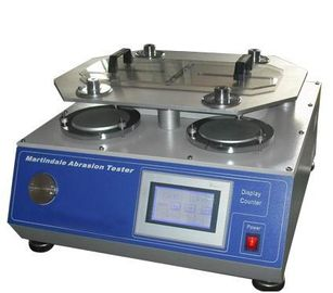 China Four Heads Wear Resistance Abrasion Testing Machine , Pilling Martindale Abrasion Tester supplier