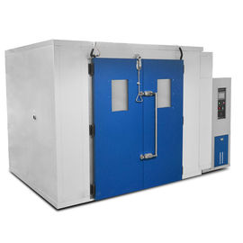 China High Low Temperature Humidity Walk in Chambers , Environmental Testing Chambers for Rubber supplier