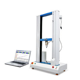 China Double Column Tensile Testing Machines for Rubber / Plastic / Fabric Strength Testing supplier