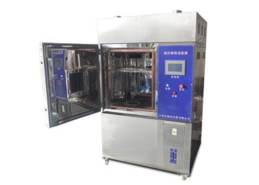 China Xenon Accelerated Testing Chamber Test Of Non-Ferrous / Organic / Rubber / Plastic supplier