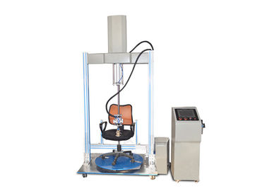 China Furniture Testing Machines Office Chair Rotating Testing Machine / Cyclic Impact Tester supplier