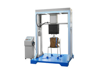 China Chair Drop Impact Test Machine High Strength Cycle Drop Weight Test , Furniture Testing Equipment supplier