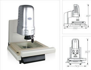 China Powerful 3D Optical Measuring Instruments , High-speed 3-axis CNC Driven Motor supplier