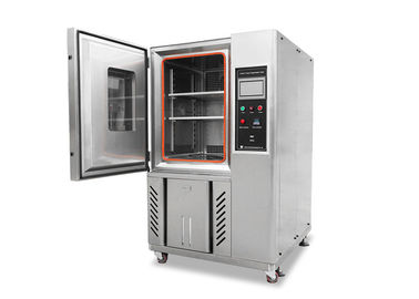 China Customized 225L Temperature Humidity Chambers , Stainless Steel Plate Testing Equipment supplier