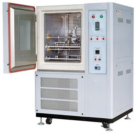 China Stainless Steel Rubber Testing Machine , Vertical Freezing Leather Flexing Testing Equipment supplier