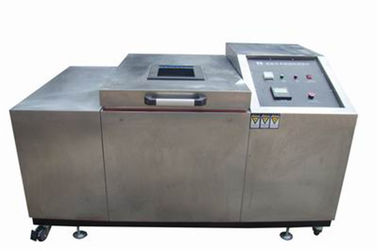 China Vertical Style Rubber Testing Machine , Freezing Leather Flexing Testing Equipment supplier