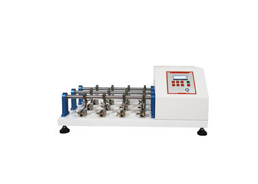 China High Accuracy Rubber Testing Machine , Electronic Leather Flexing Resistance Tester supplier