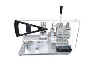 China Knife Cookware Bending Strength Testing Machine With Acrylic Protective Cover supplier