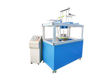 China Blue Endurance Testing Machine , Infant Scooter Dynamic Test Equipment supplier