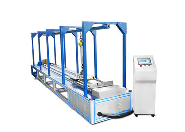 China Horizontal Impact Test Machine With High Speed 1-5m / Adjustable supplier