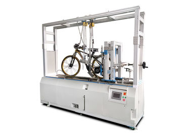 China Electronic Bicycle Testing Machine / Bicycle Simulation Dynamic Road Performance Tester supplier
