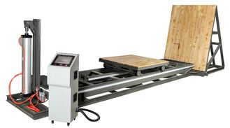 China Flexible Package Testing Equipment For Simulating Incline Impact Strength Test, ISTA-1E supplier