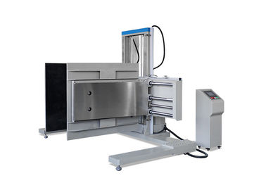 China PLC Control Package Testing Equipment , ASTM D6055 Packaging Clamping Testing Instruments supplier