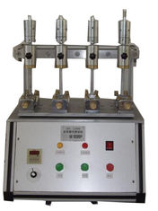 China Stable Rubber Testing Machine , Rubber / Leather Fabric Color Shedding Level Tester supplier