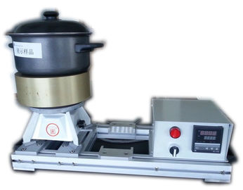 China Aluminum Block Cookware Testing With Heater And Thermo Controller supplier
