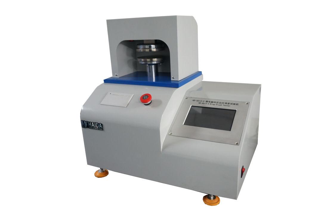 Paper Test Instruments : Computer servo paper testing equipments edge crush