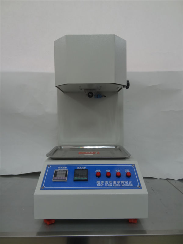 Flow Rate Tester : Plastic melt flow rate testing equipments lcd