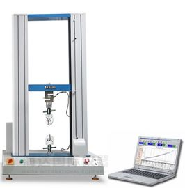 China Mechanical Tensile Testing Machines , Electronic Tensile Strength Test Equipment factory