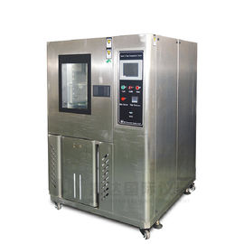 100L Programmable Temperature Humidity Stability Test Chamber With Air - Cooling