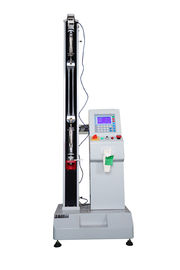 China Single Column Tensile Strength Test Machine 2KN , Computer Servo Electric Tensile Tester factory