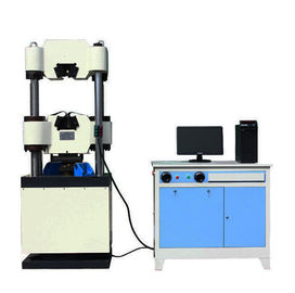 China Vertical Electronic Hydraulic Universal Tensile Compressive Strength Testing Machines factory