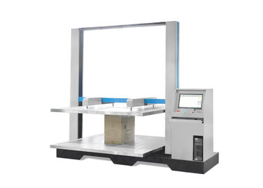 China Electronic Carton Compression Tester , Computer Servo Box Carton Compressive Testing Machine factory