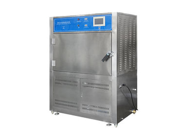 China UV Accelerated Weathering Tester , Touch Screen Type Rubber UV Aging Test Chamber factory