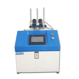 China Thermal Deformation Plastic Testing Machine , PC Vicat Softening Point Tester distributor