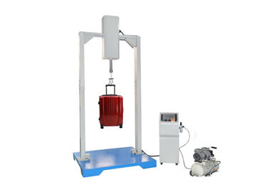China Handle Jerk Suitcase Tester , Automatic Shock And Vibration Testing Machine factory