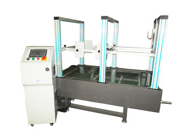 China PLC Control Suitcase Tester , Luggage Simulation Using Life Testing Machine factory