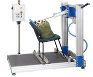 China LCD Chair Back Cyclic Furniture Testing Machines Electric With 0 - 18 in Stroke distributor