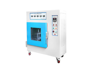 China PID Control Rubber Testing Machine , Hot Temperature Adhensive Tape Testing Chamber factory