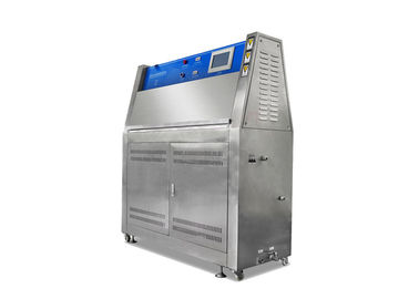 China UV Accelerated Weathering Tester , PID SSR Control Weathering Testing Machine factory