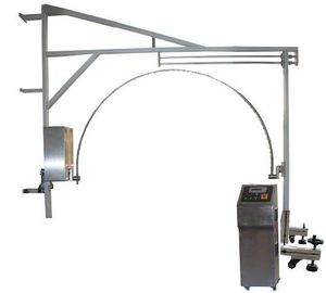 China Environmental Test Chambers , Arched Pendulum Tube Rain Home Appliance Tester factory