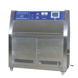 China Steel Plate UV Aging Test Chamber , Lamp Fabric UV Accelerated Weathering Testing Machine factory