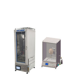 China 30mm Flame Height Flame Retardant Testing Equipment For Medical Protective Masks factory