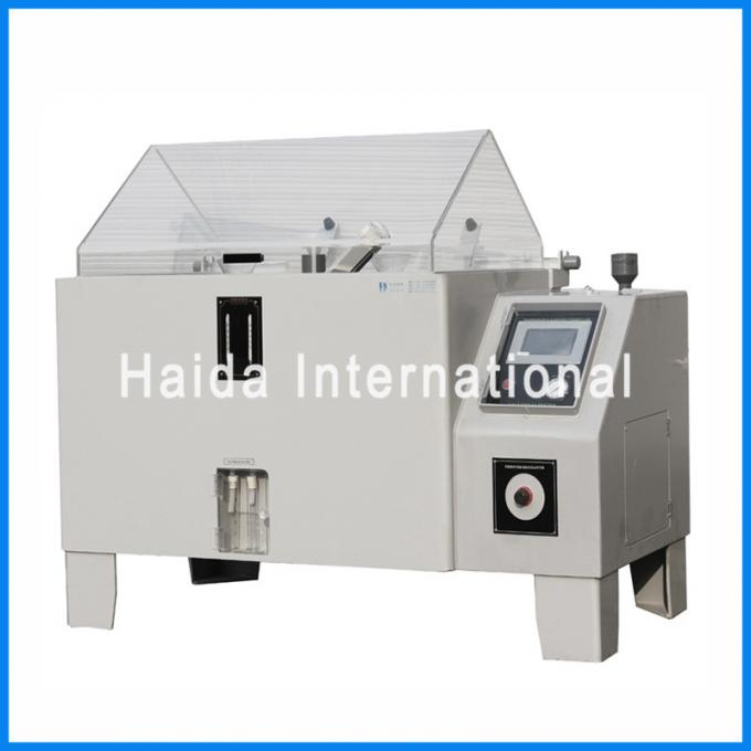LCD Touch Screen Salt Spray Test Chamber , 108L 270L Salt Spray Corrosion Test Chamber