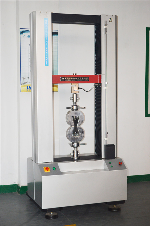1T Material Electric Tensile Strength Testing Machine With Panasonic Servo Motor