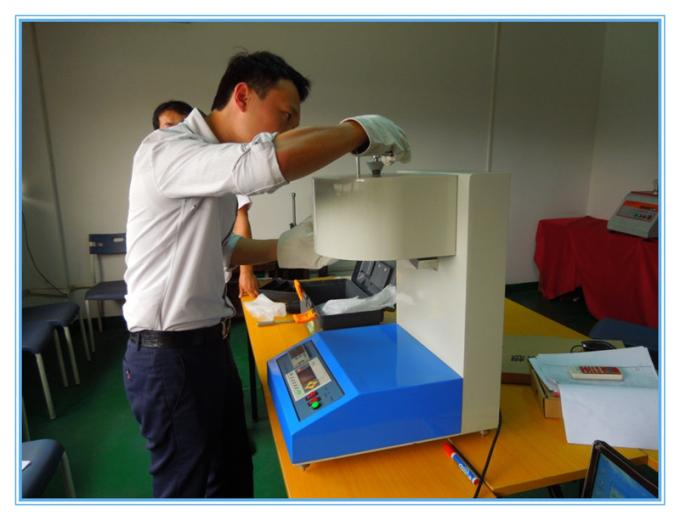 LCD Plastic Testing Machine , rubber Melt Flow Rate Tester MFR +MVR+PC