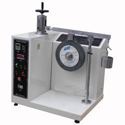 "36"" Leather Suitcase Tester , Luggage Wheel Abrasion Testing Machine"