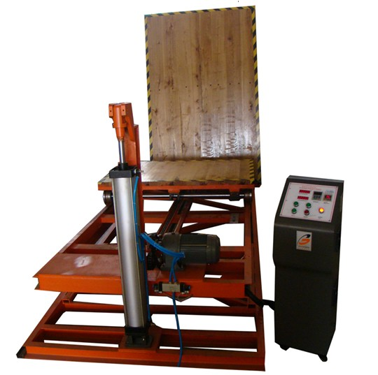 Flexible Package Testing Equipment For Simulating Incline Impact Strength Test, ISTA-1E