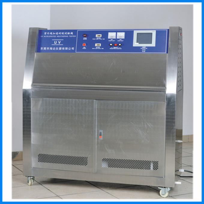 PID SSR Control Industrial Accelerated Weather UV Aging  Environmental Test Chamber