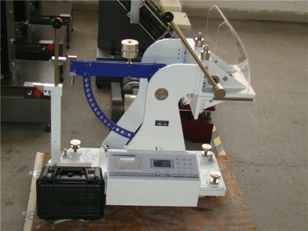 LCD Display Paper Testing Equipments , Paperboard Puncture Strength Tester