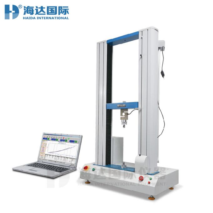 Double Column Computer Servo High Precision Steel Wire Strength Tensile Testing Machines