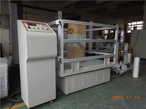 Automatic Paper Testing Equipments Corrugated Carton Simulation Vibration Test Machine