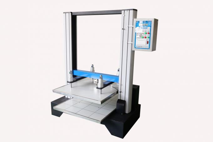 Electronic Carton Compression Tester , Automatic Computer Servo Box Compressive Tester