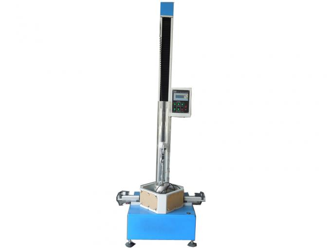 Electronic Rubber Testing Machine , 200 cm High Drop Ball Fall Impact Testing Machine with DC solenoid control